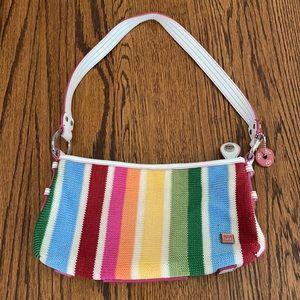 The Sak Rainbow Knit Shoulder Bag